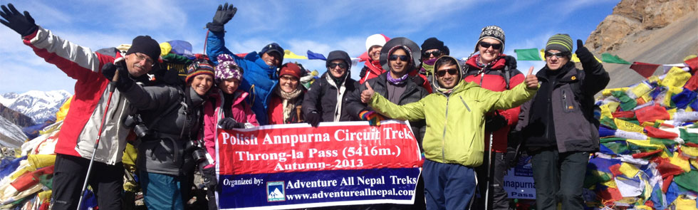 Adventure All Nepal Treks